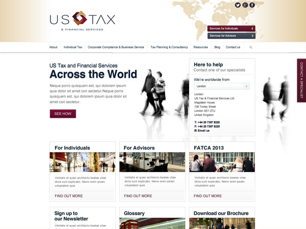 Us Tax Main Theme
