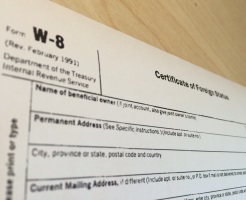 Existing W-8 OK to use for 2014 says IRS Official - US Tax ...