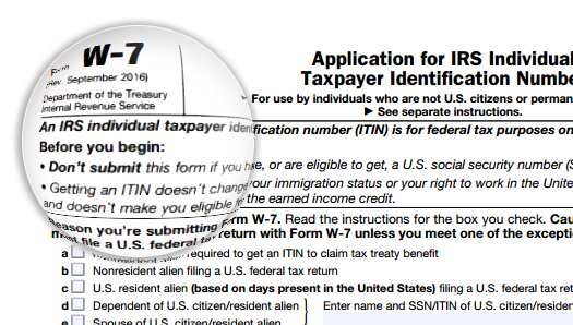 New 2017 Expiration And Renewal Of Itins Us Tax Financial Services