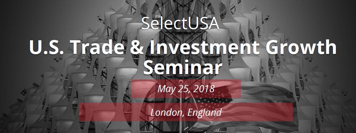 SelectUSA 25 May 2018