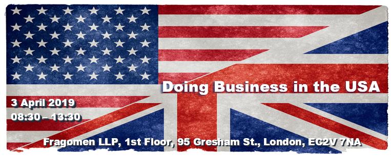 Doing Biz in USA London 2019