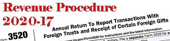 Revenue Procedure 2020-17
